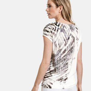 Printed EcoVero T-shirt