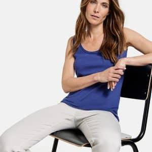 Lapis Lazuli Organic Cotton Vest Top