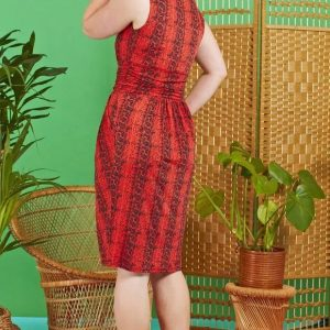 Ophidia Red Sid Dress