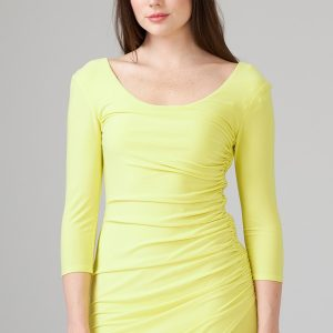 Zest Ruched Dress Style 201537