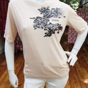 Cotton Sport Sequin T-shirt