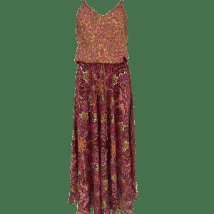 Luna Ella Tutti Frutti Print Dress
