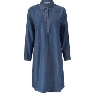 Denim Nalfa Shirt Dress