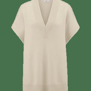 Opaline Wool V-neck Sweater