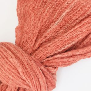 Coral Textured Scarf
