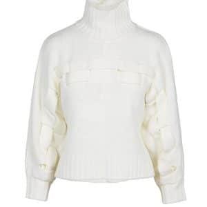 Ibia Pullover Knit in Cream