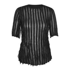 Ine Elegant T-Shirt in Black