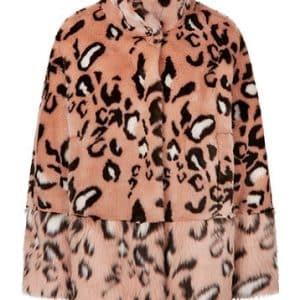 Glamorous Leopard Faux Fur