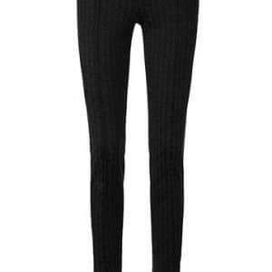 Black Matte Sheen Pants