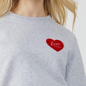 Heather Gray 'Love 24hrs' Sweatshirt
