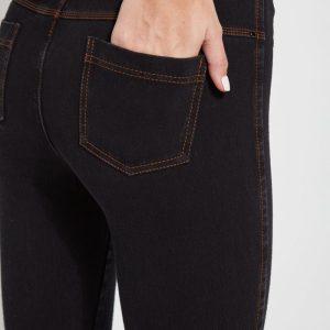 Midtown Black Toothpick Denim Legging