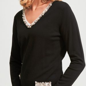 Embellished Top Style 213933