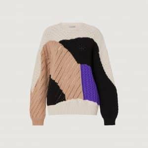Virgin Wool Intarsia Sweater