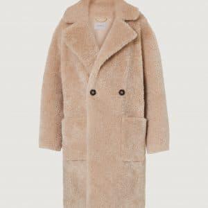 Sand Teddy Coat