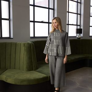 Houndstooth Sweater Style 213912