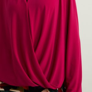 Dahlia Draped Front Top Style 213341