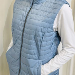 Dove Quilted Gillet
