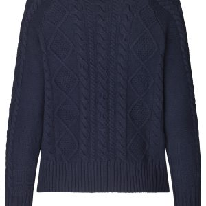 Navy Knitted Pullover