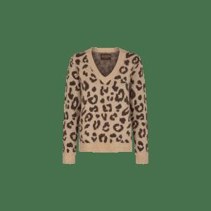 Soffia Leo Jacquard Wool Knit