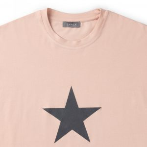 Dusky Pink May T-Shirt with Star