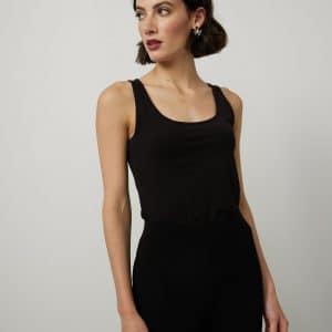 Black Embellished Leggings Style 214220