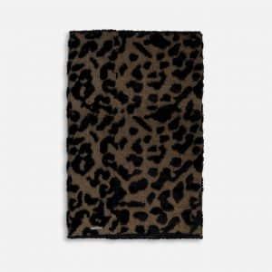 Leopard Print Sawa Knitted Collar