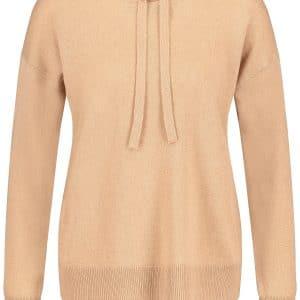 Wool & Cashmere Blend Hooded Jumper