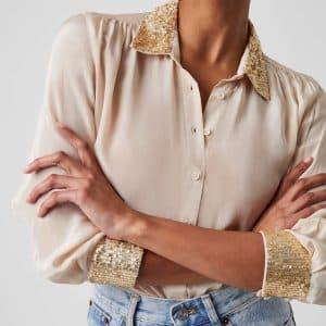 Eshka Sequin Detail Shirt